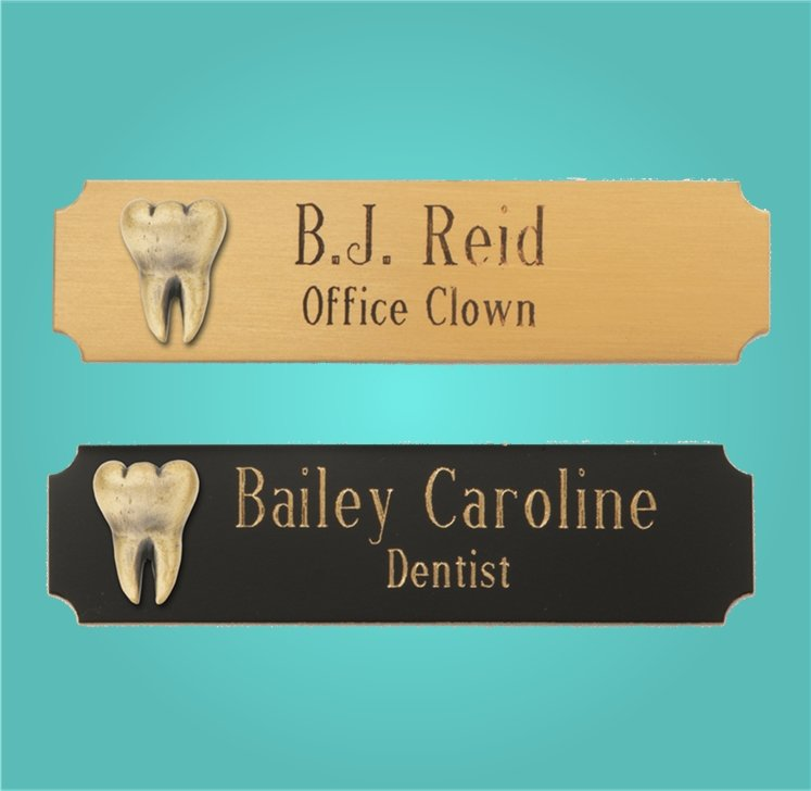 Dental Name Tags and Lapel Pins