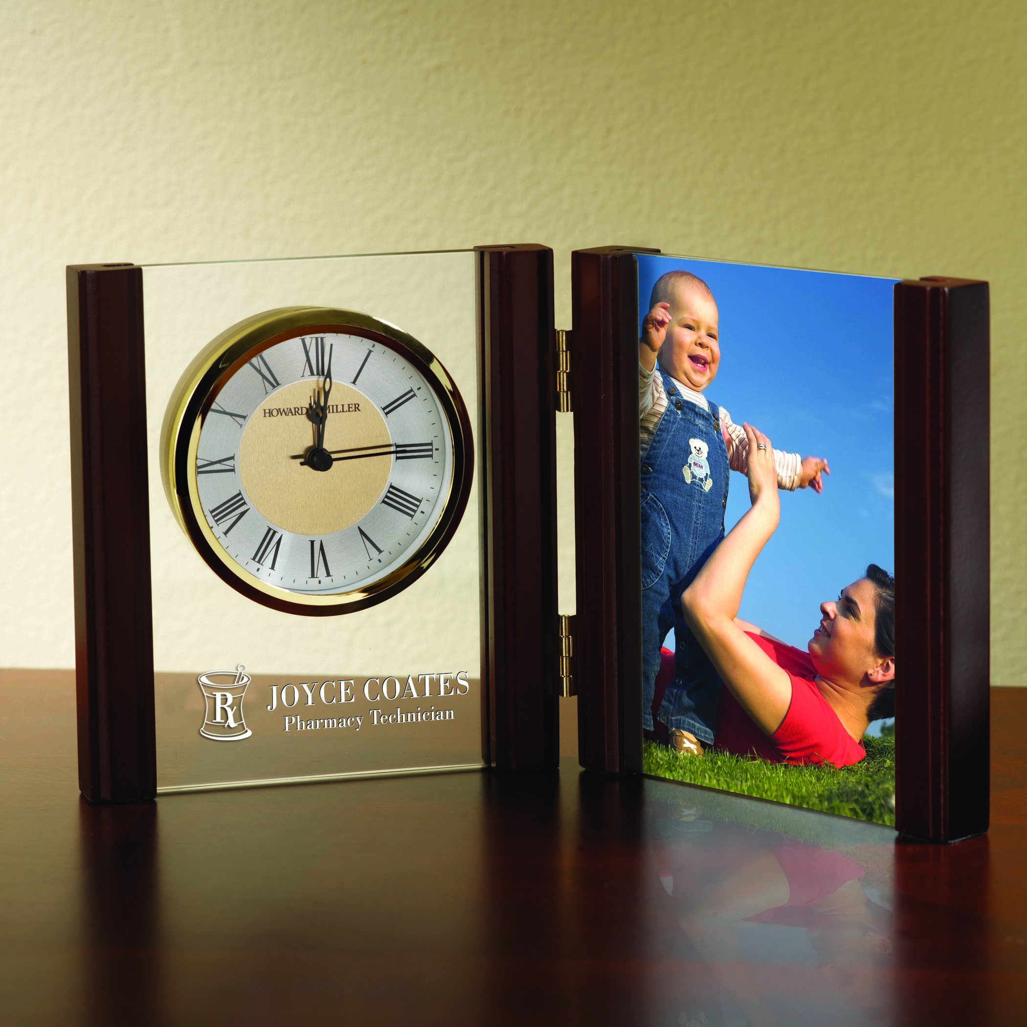 Personalized pharmacy gifts y129 frame and clock jeuxipadfo Images